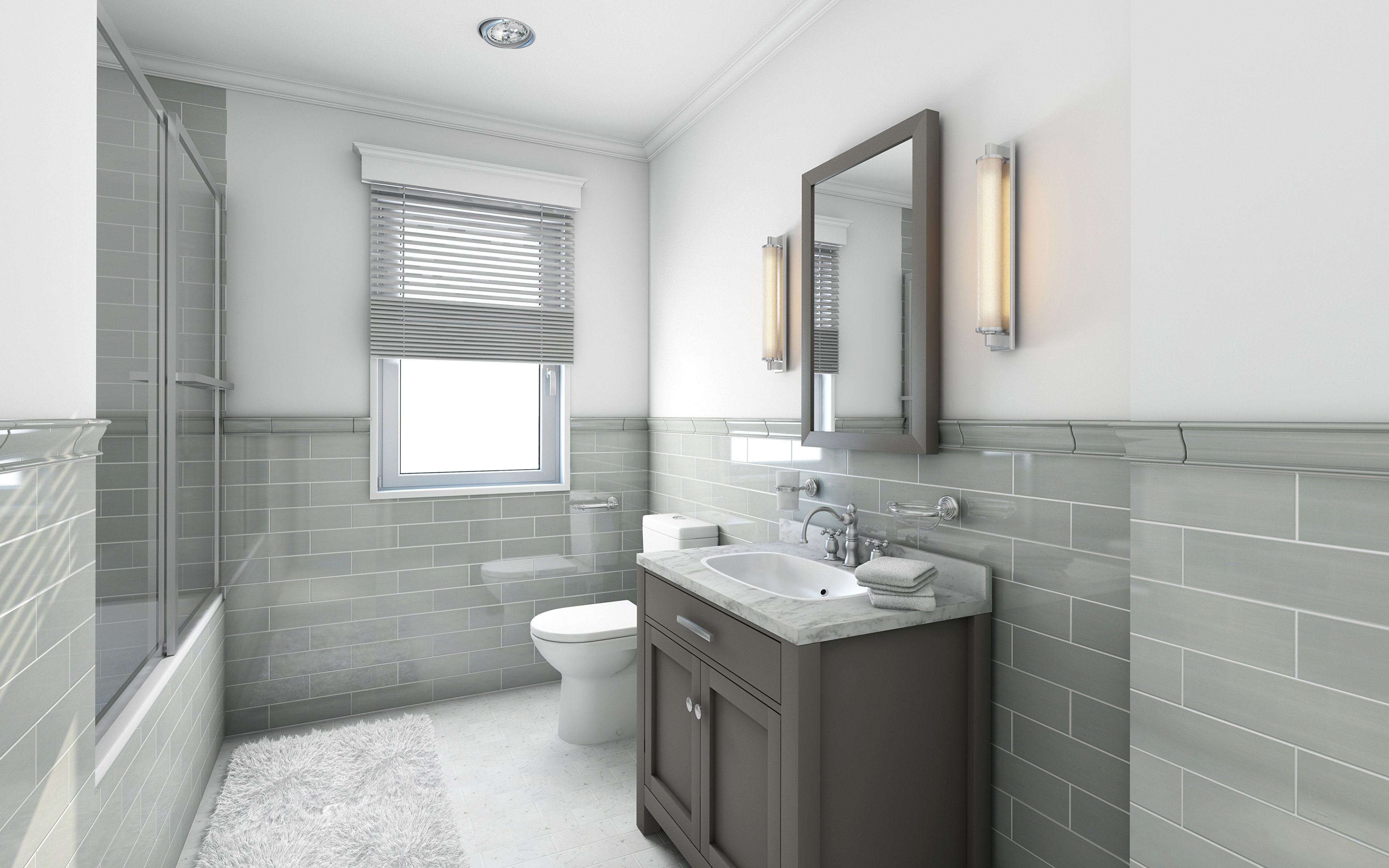Fondos de Pantalla 3840x2400 Diseño interior Cuarto de ...