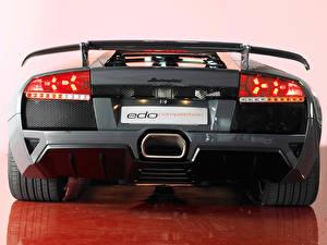 Hintergrundbilder Lamborghini Hinten Fahrzeugscheinwerfer
