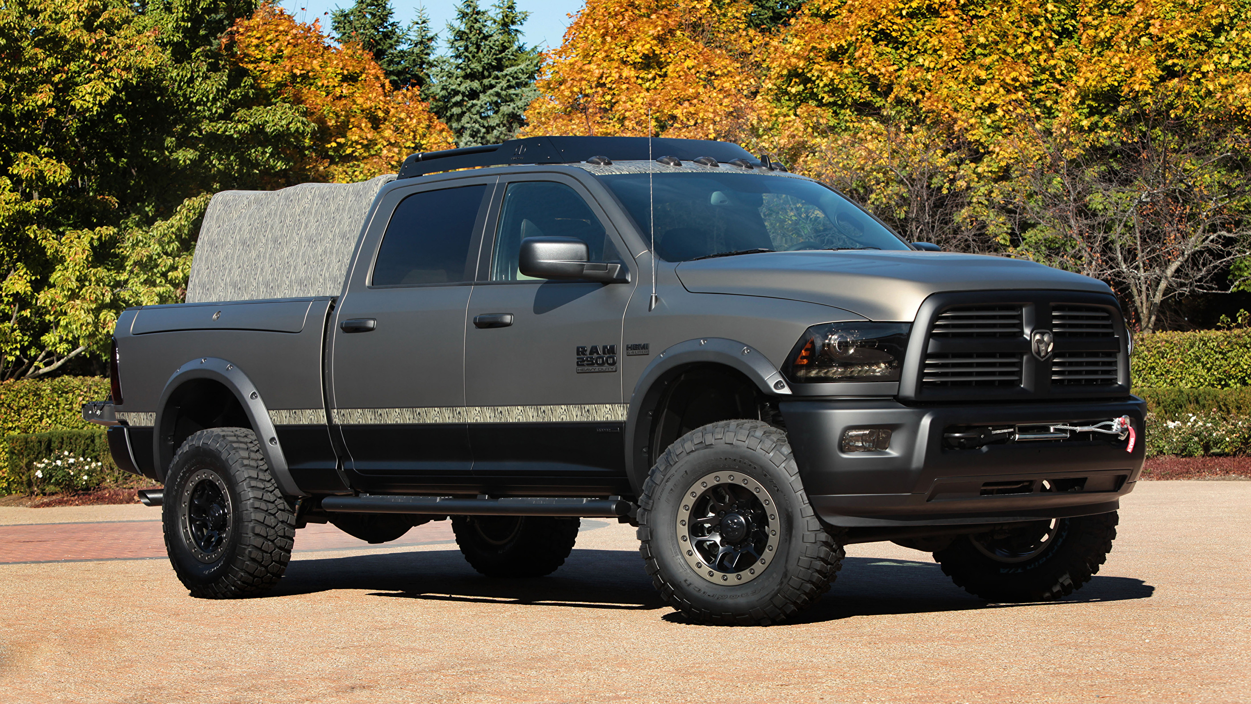 Picture Dodge Tuning 2014 Ram 2500 Outdoorsman Gray 2560x1440
