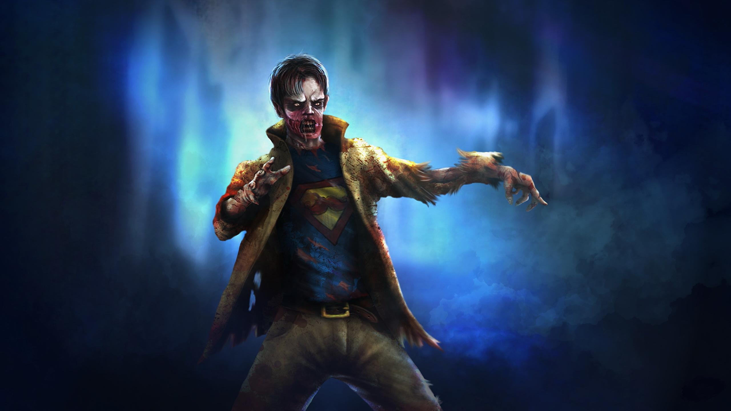 Desktop Wallpapers Zombie Fantasy 2560x1440