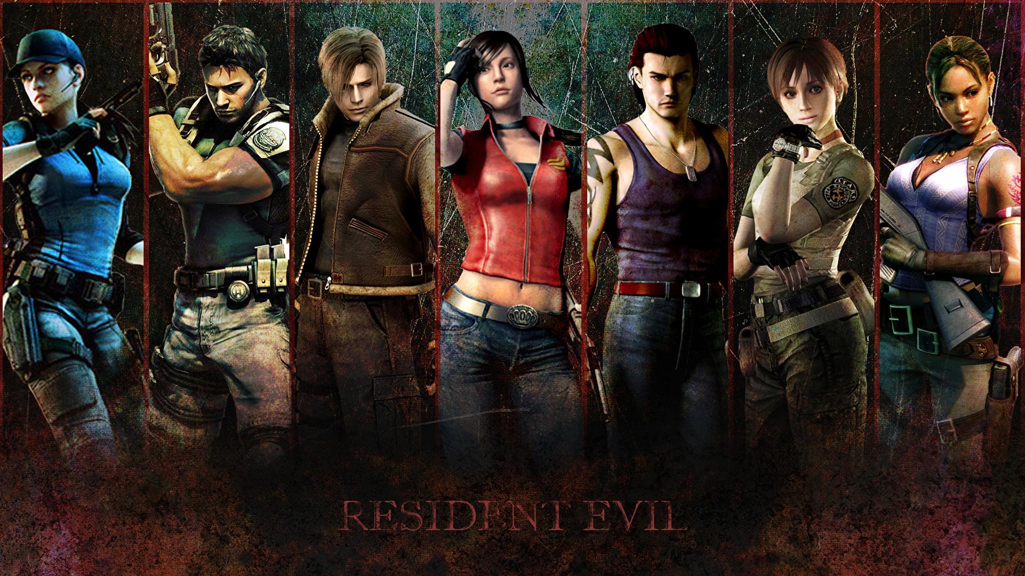 Resident Evil Обои На Рабочий Стол