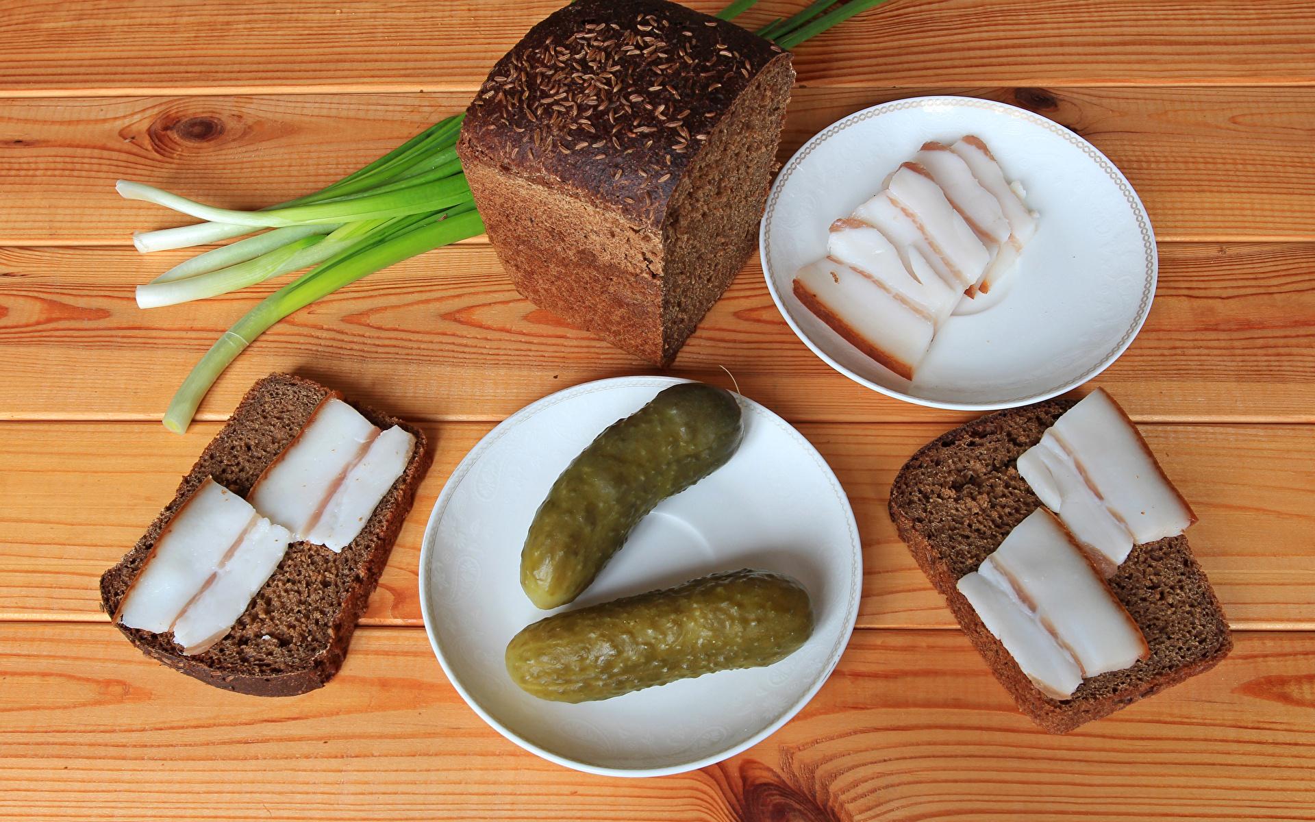 Wallpaper Cucumbers Salo - Food Bread Food Saucer 1920x1200