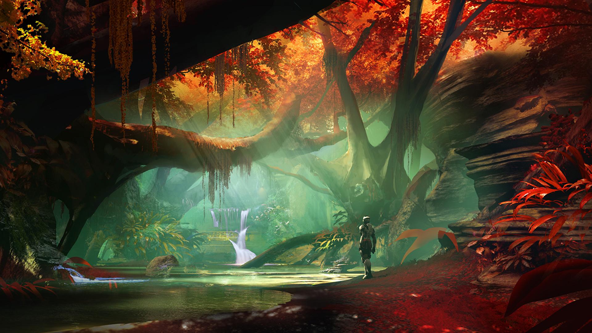 Wallpaper Destiny 2 Fantasy Games Fantastic World 1920x1080