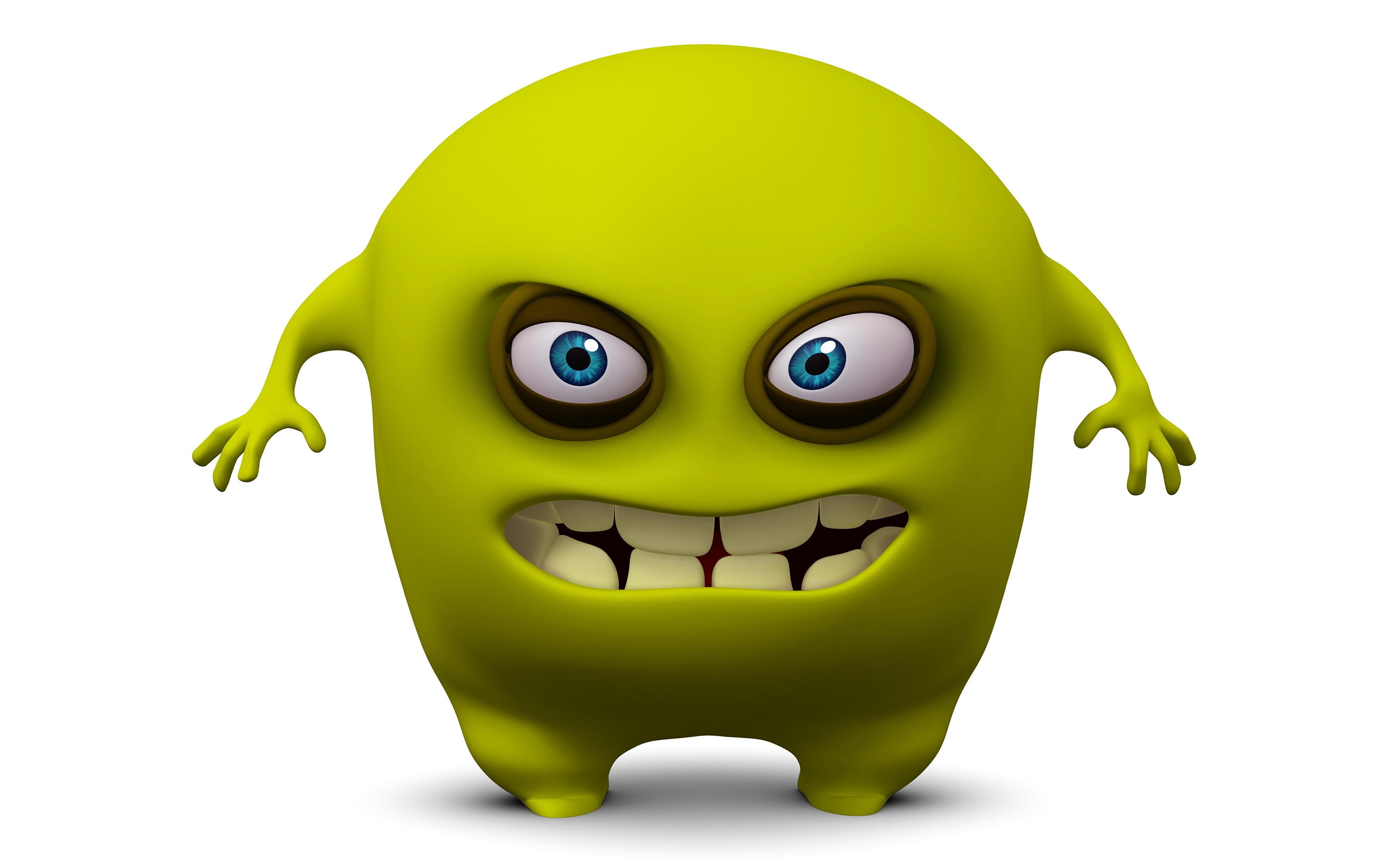Monster-Zeichentrickfilme College-Arbeitsplätze