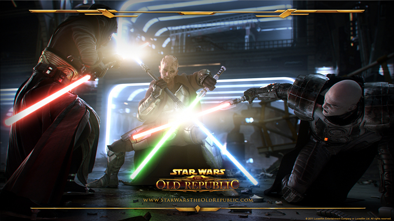 Image Star Wars Star Wars The Old Republic Games 1366x768