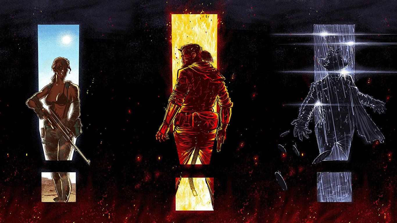 Fondos De Pantalla 1366x768 Metal Gear Guerrero Solid V