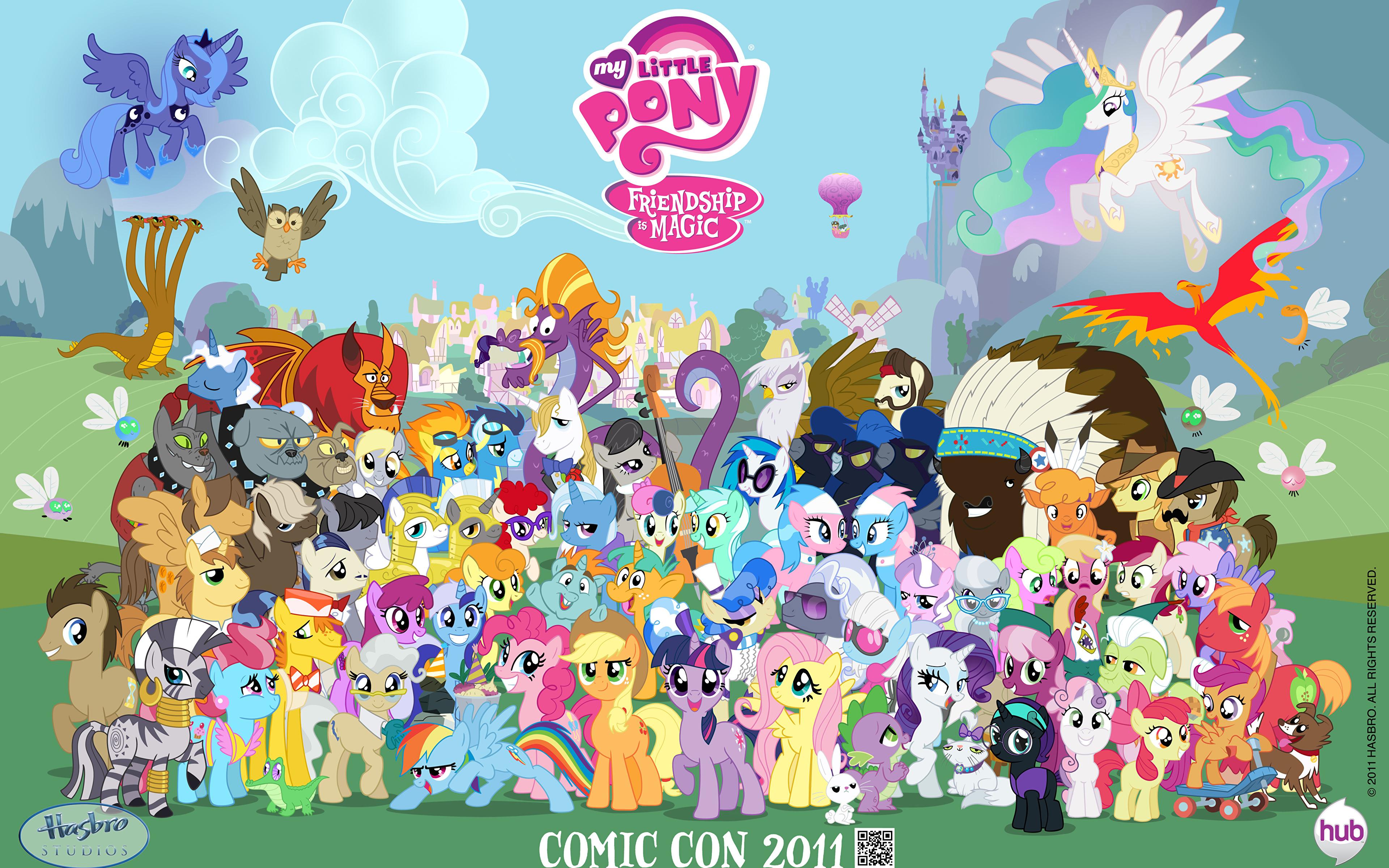 3840 X 2400: Fondos De Pantalla 3840x2400 My Little Pony Pegaso