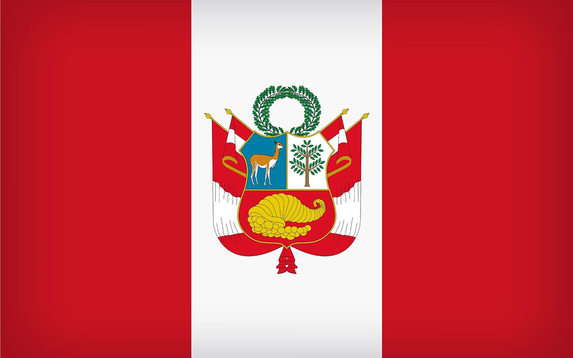 Fondos De Pantalla 1920x1200 Peru Bandera Descargar Imagenes