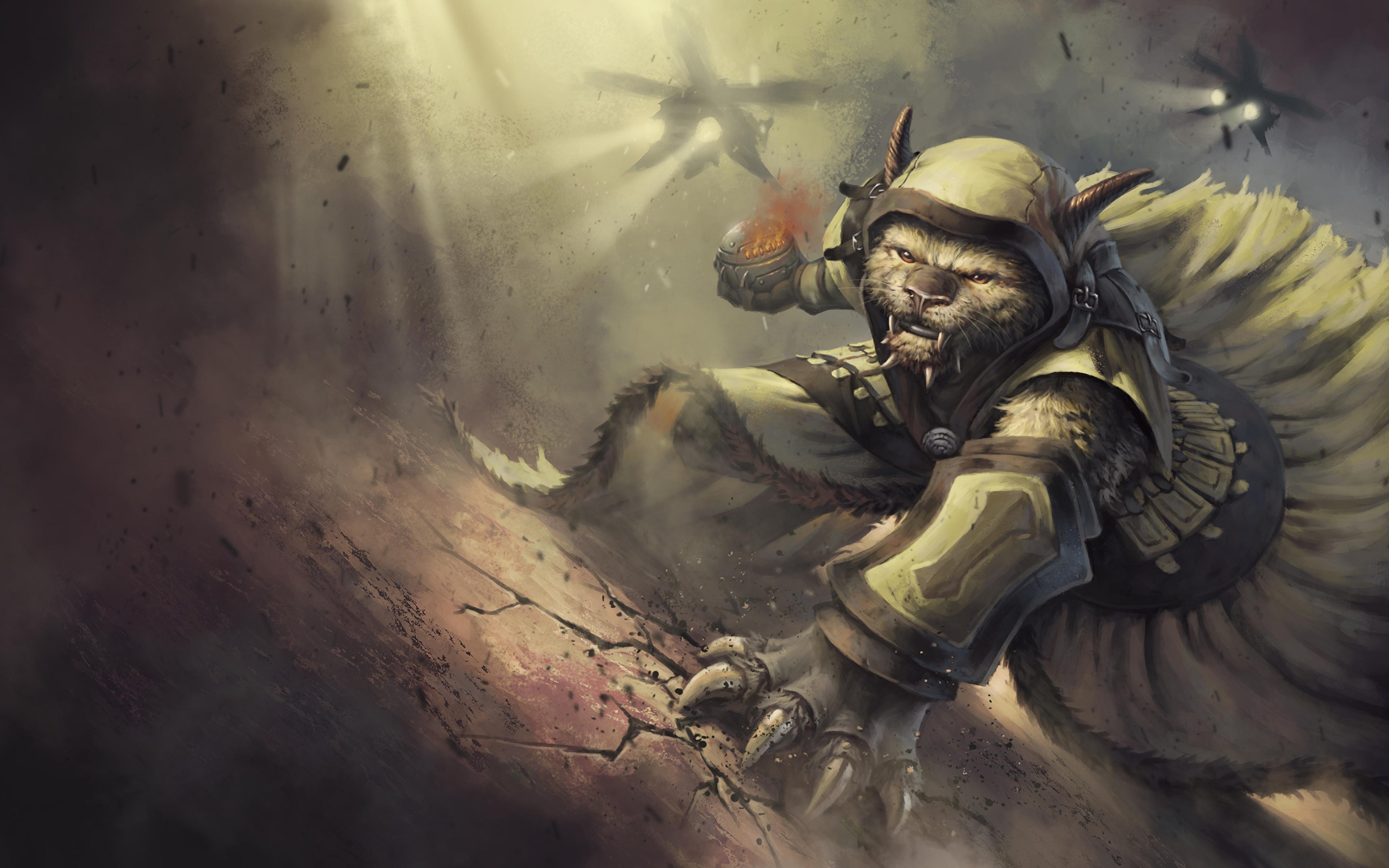 Image Guild Wars 2 Warriors Fantasy Games 3840x2400