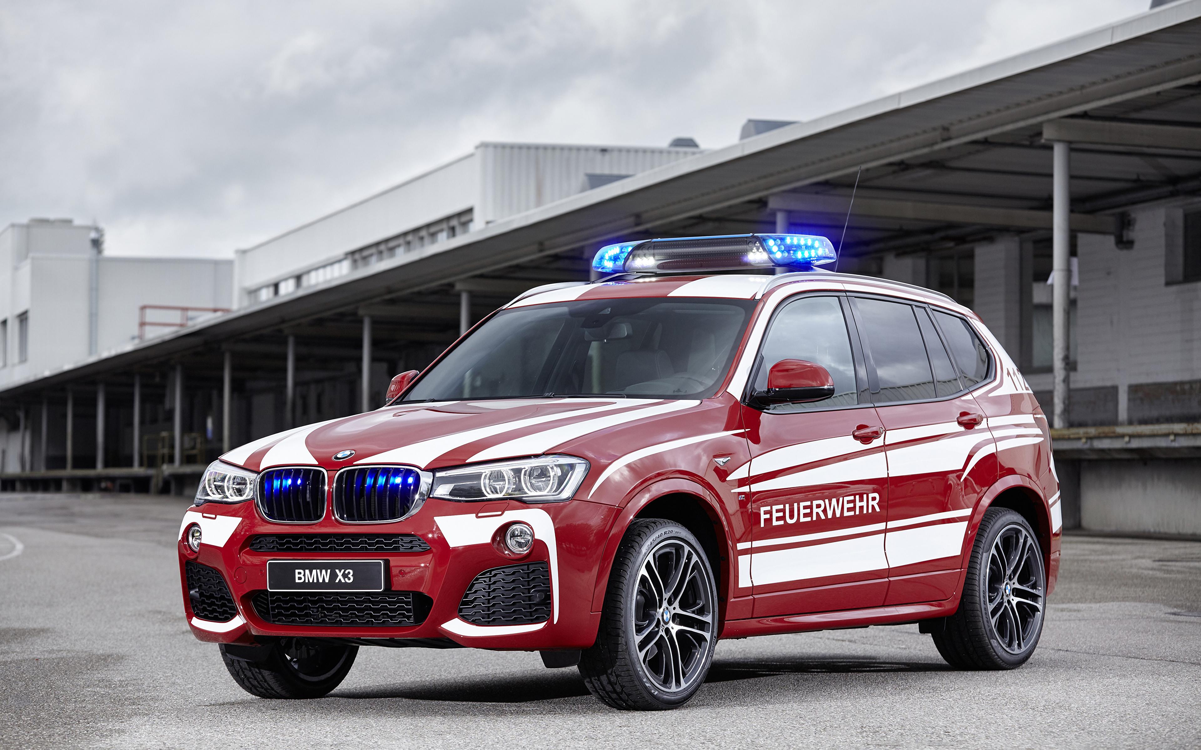 Fondos De Pantalla 3840x2400 Bmw Tuning 2016 X3 Xdrive20d M Sport Feuerwehr Rojo Metalico Coches Descargar Imagenes