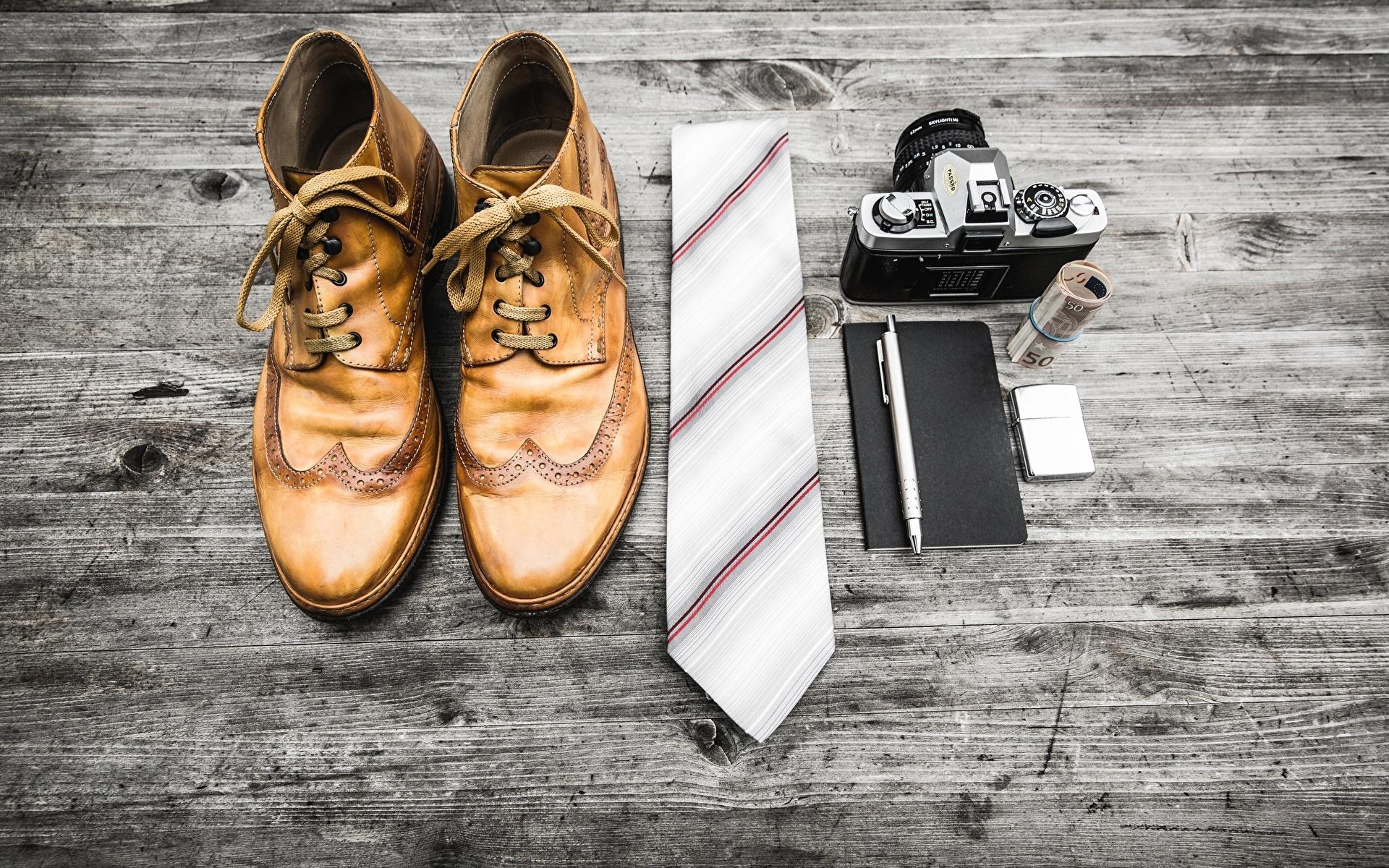 Foto Fotoapparat Kugelschreiber Boots Krawatte Bretter 1920x1200