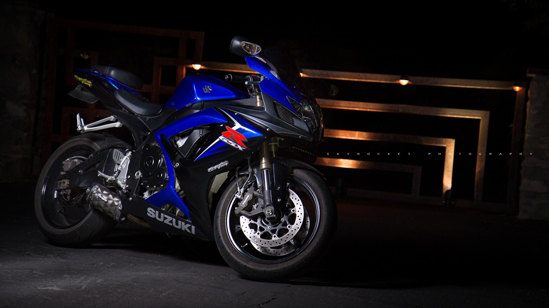 壁紙 1920x1080 スズキバイク Sportbike Gsx R600 オートバイ ダウンロード 写真