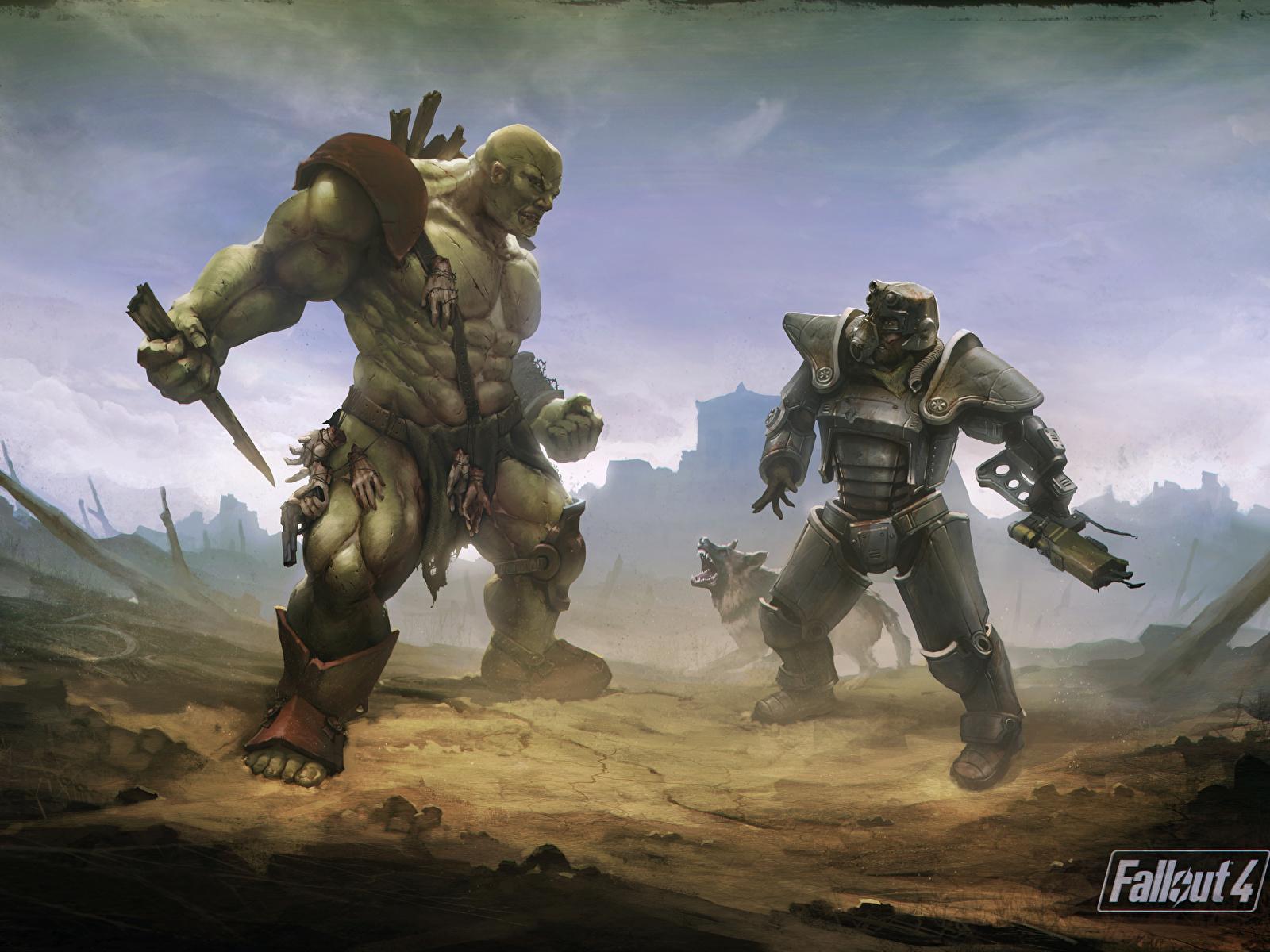 Fondos De Pantalla 1600x1200 Fallout Monstruos Fallout 4