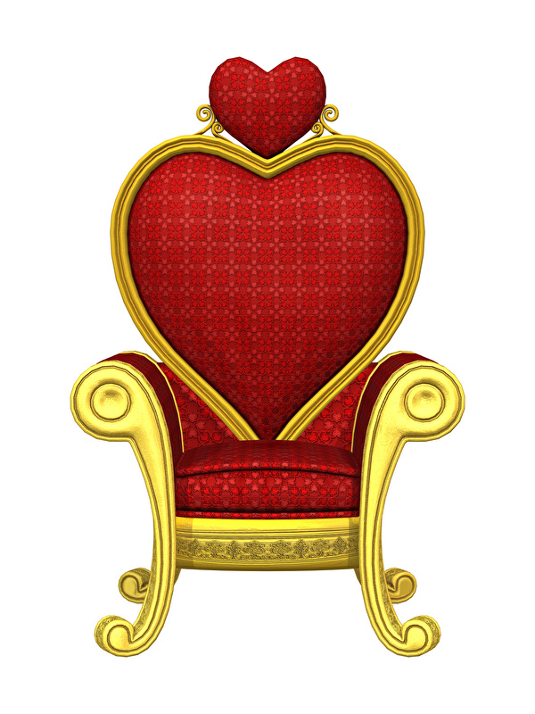Bilder von Valentinstag Herz 3D-Grafik Sessel Weißer hintergrund Design 600x800