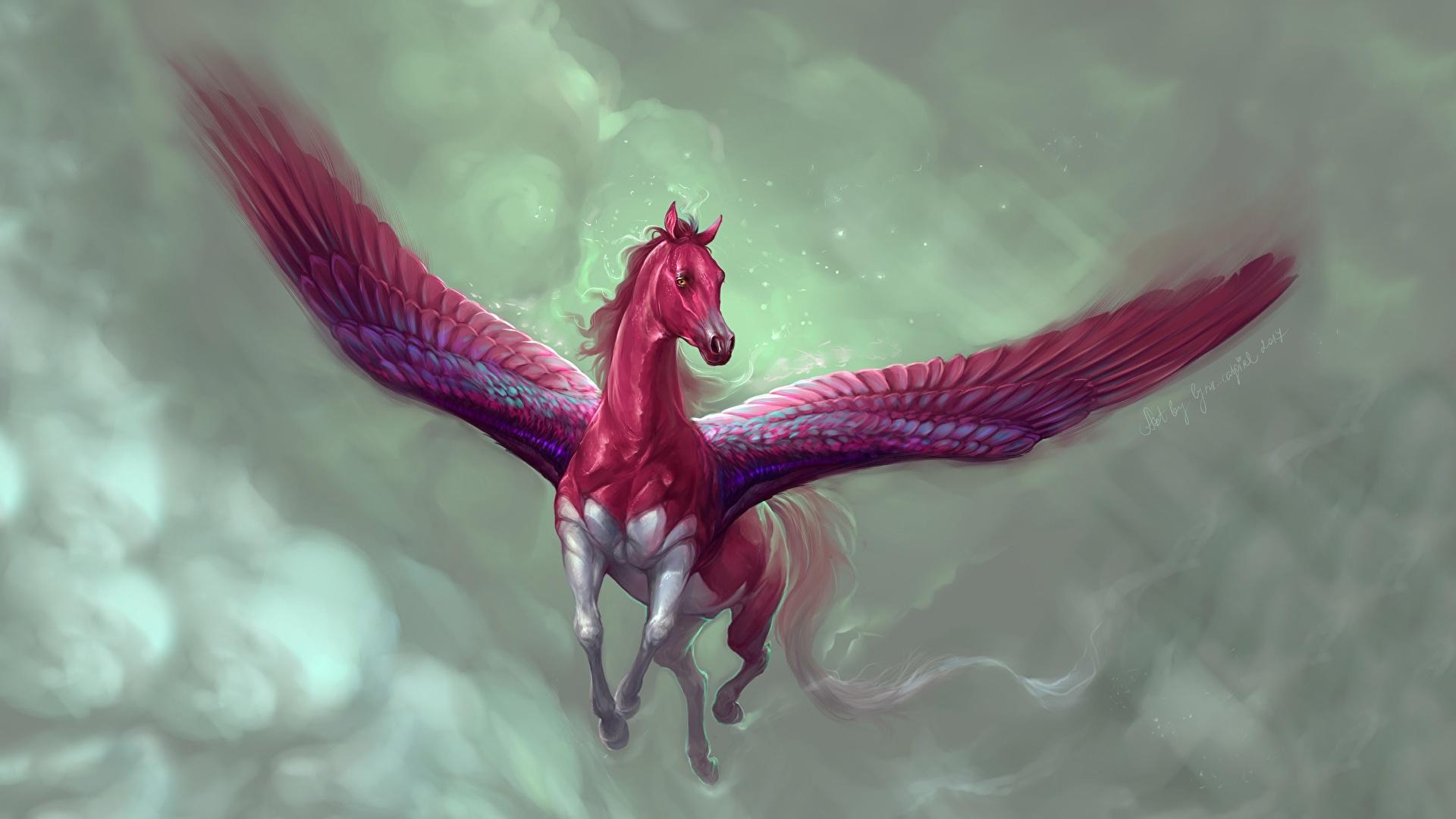 Desktop Wallpapers Pegasus By Marianna Gadzhy Marianna