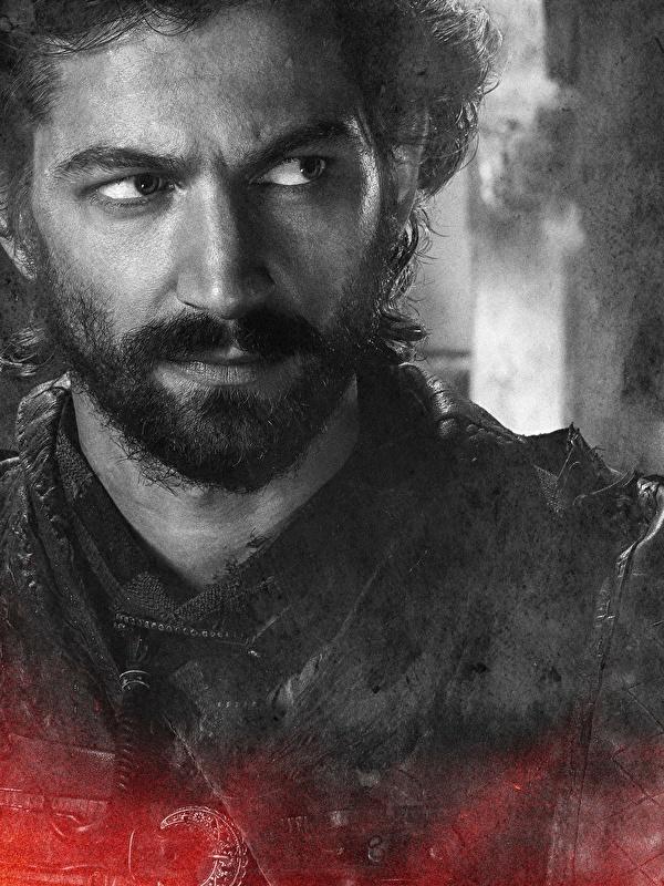 Bilder von Game of Thrones Mann Daario Naharis Barthaar Gesicht Film Großansicht 600x800 für Handy bärte bärtige bärtiger hautnah Nahaufnahme