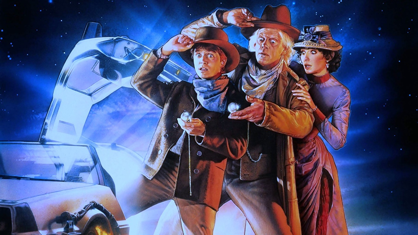 Wallpaper Back To The Future Film 1366x768