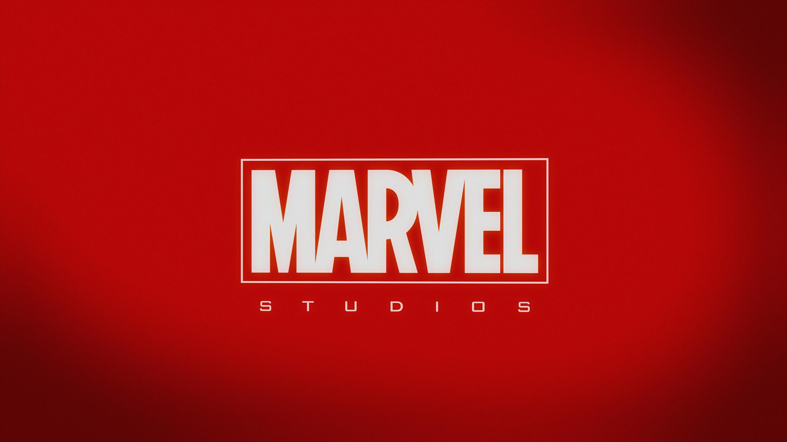 Fonds Decran 2560x1440 Logotype Emblème Marvel Rouge
