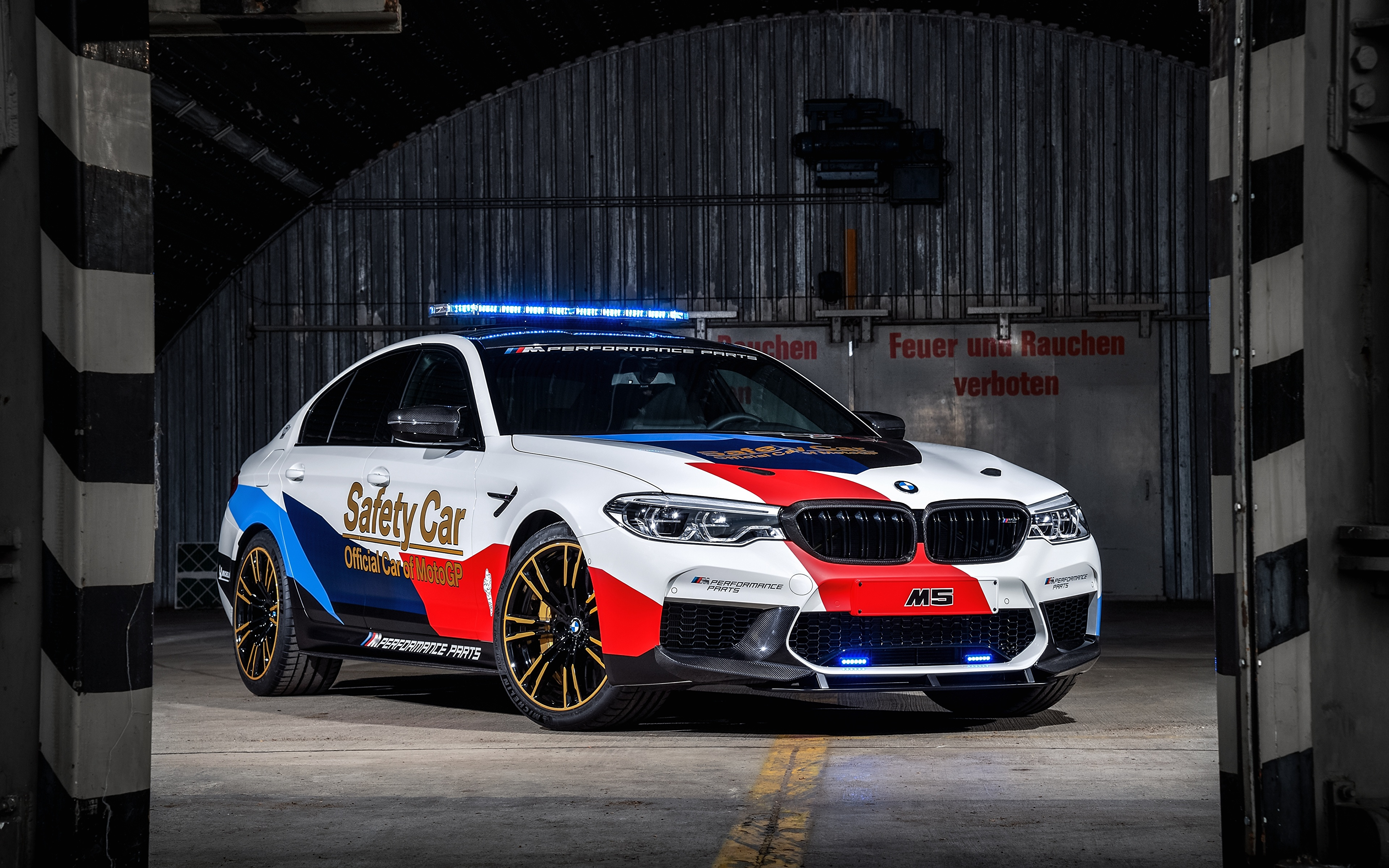 Images BMW Tuning 2018 M5 MotoGP Safety Car auto 3840x2400 Cars automobile