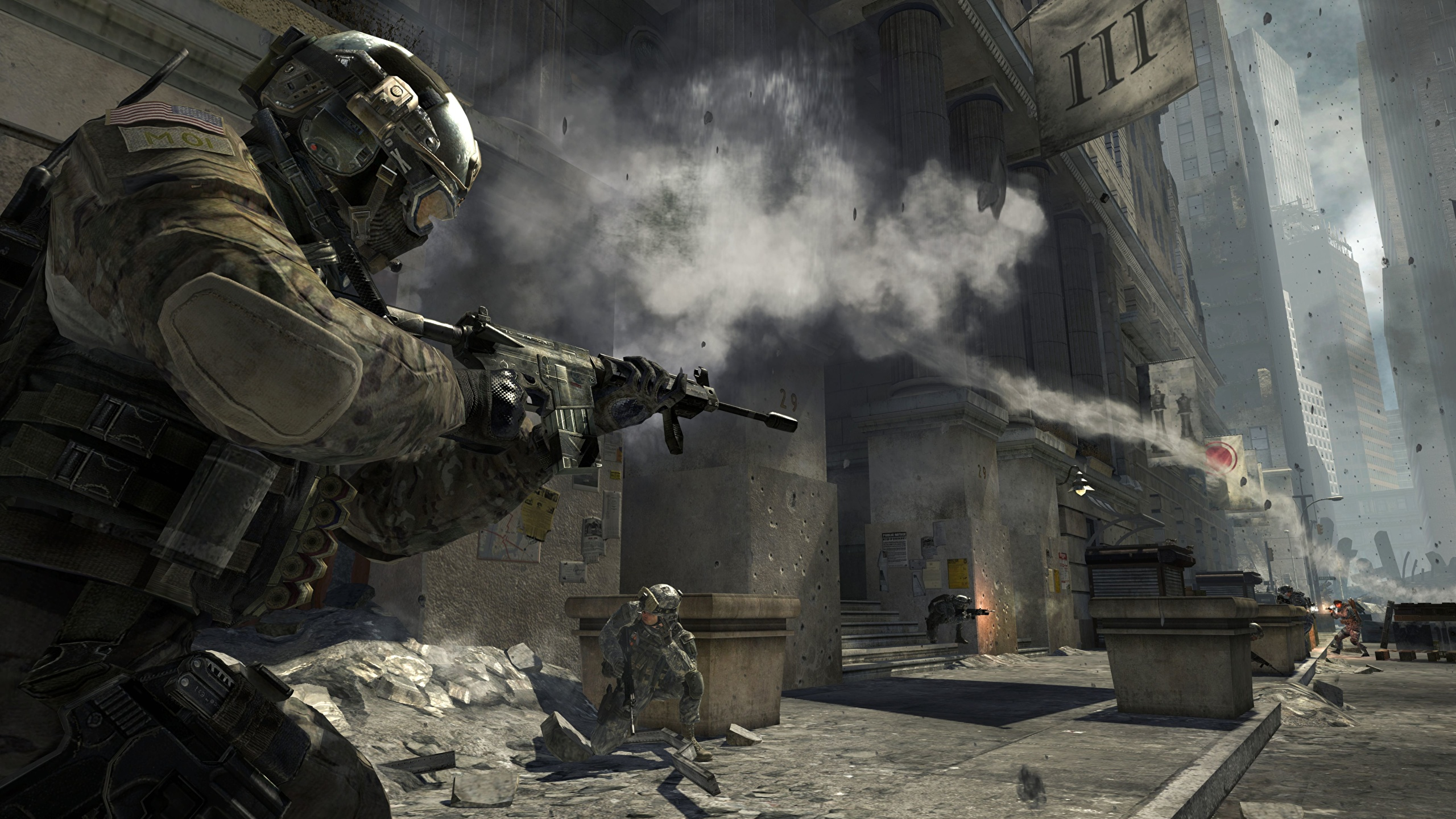 Photo Call Of Duty Call Of Duty 4 Modern Warfare Games 2560x1440