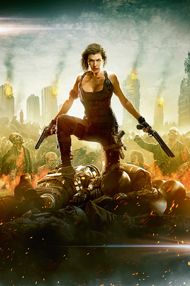 Desktop Wallpapers Resident Evil The Final Chapter Milla