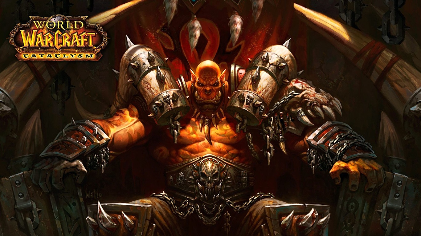 Pictures Wow Orc Games 1366x768