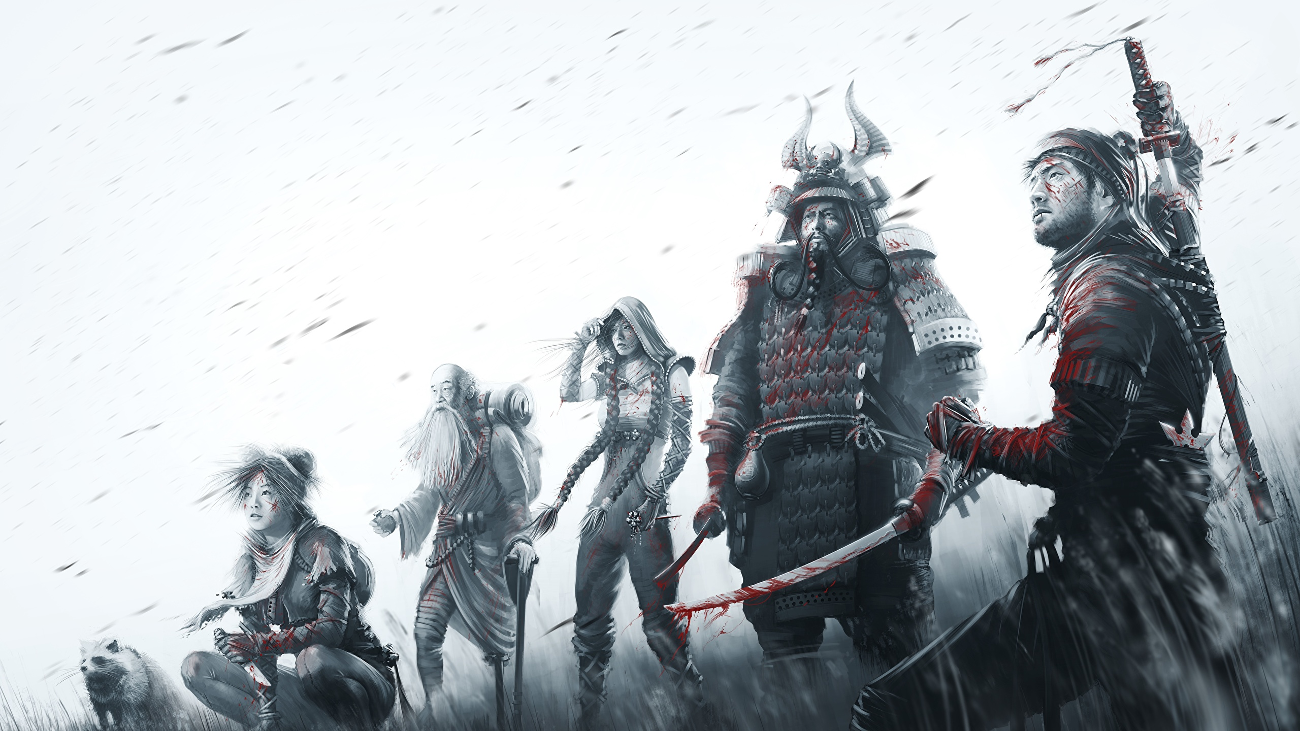 Photos Samurai Warriors Shadow Tactics Blades Of The 2560x1440