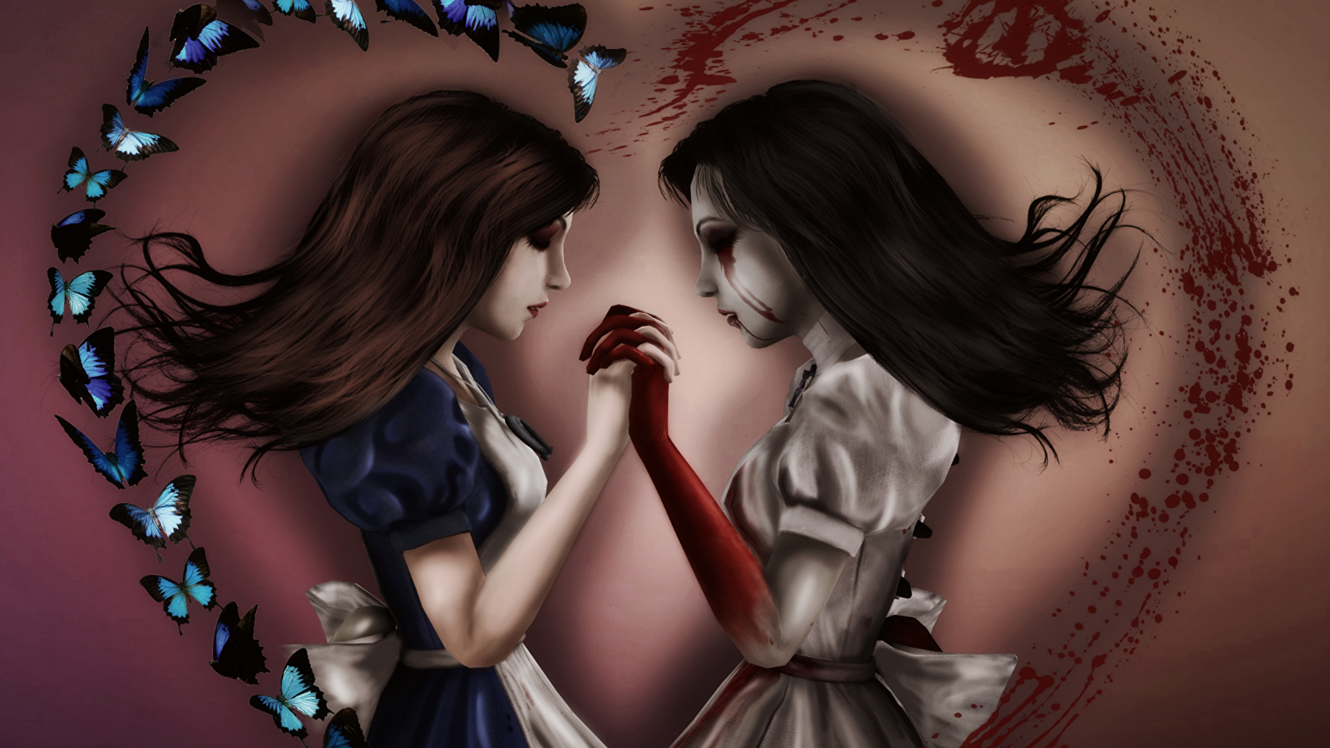 Image Alice Blood Madness Returns 2 Hair Girls Vdeo Game 1920x1080