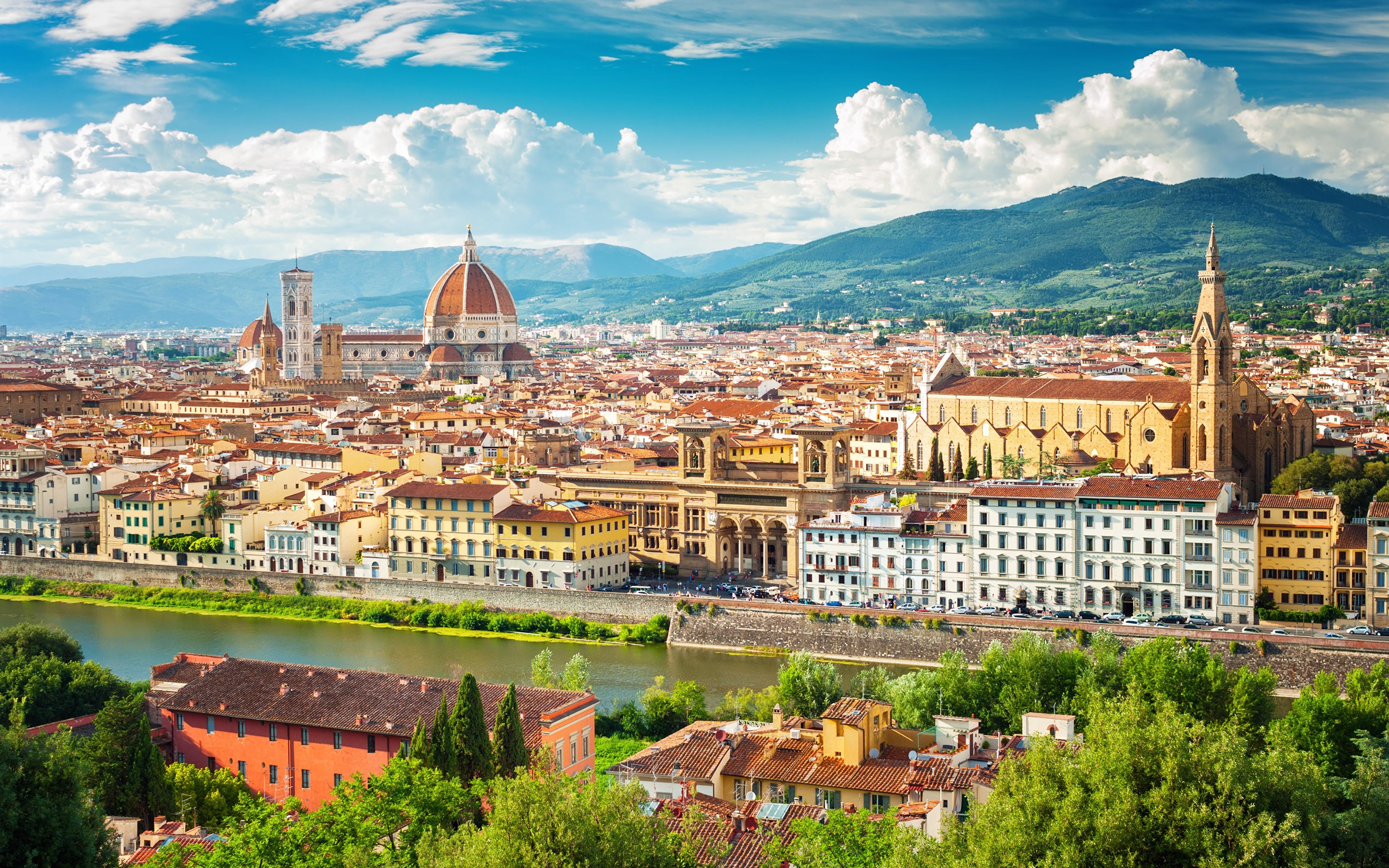 3840 X 2400: Fondos De Pantalla 3840x2400 Casa Italia Florencia