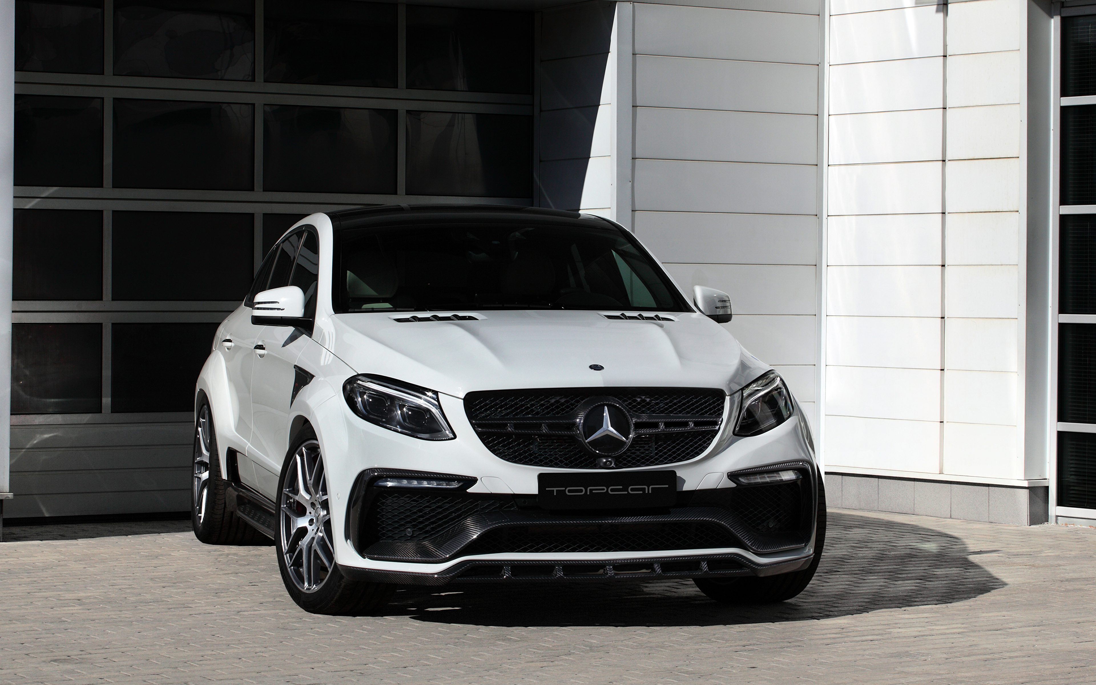 Wallpaper Mercedes Benz Gle Class Coupe C292 White Cars 3840x2400