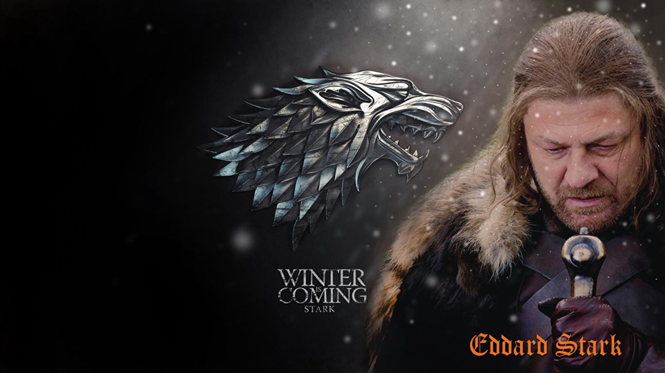 Photo Game Of Thrones Sean Bean Man Eddard Stark Film 1366x768