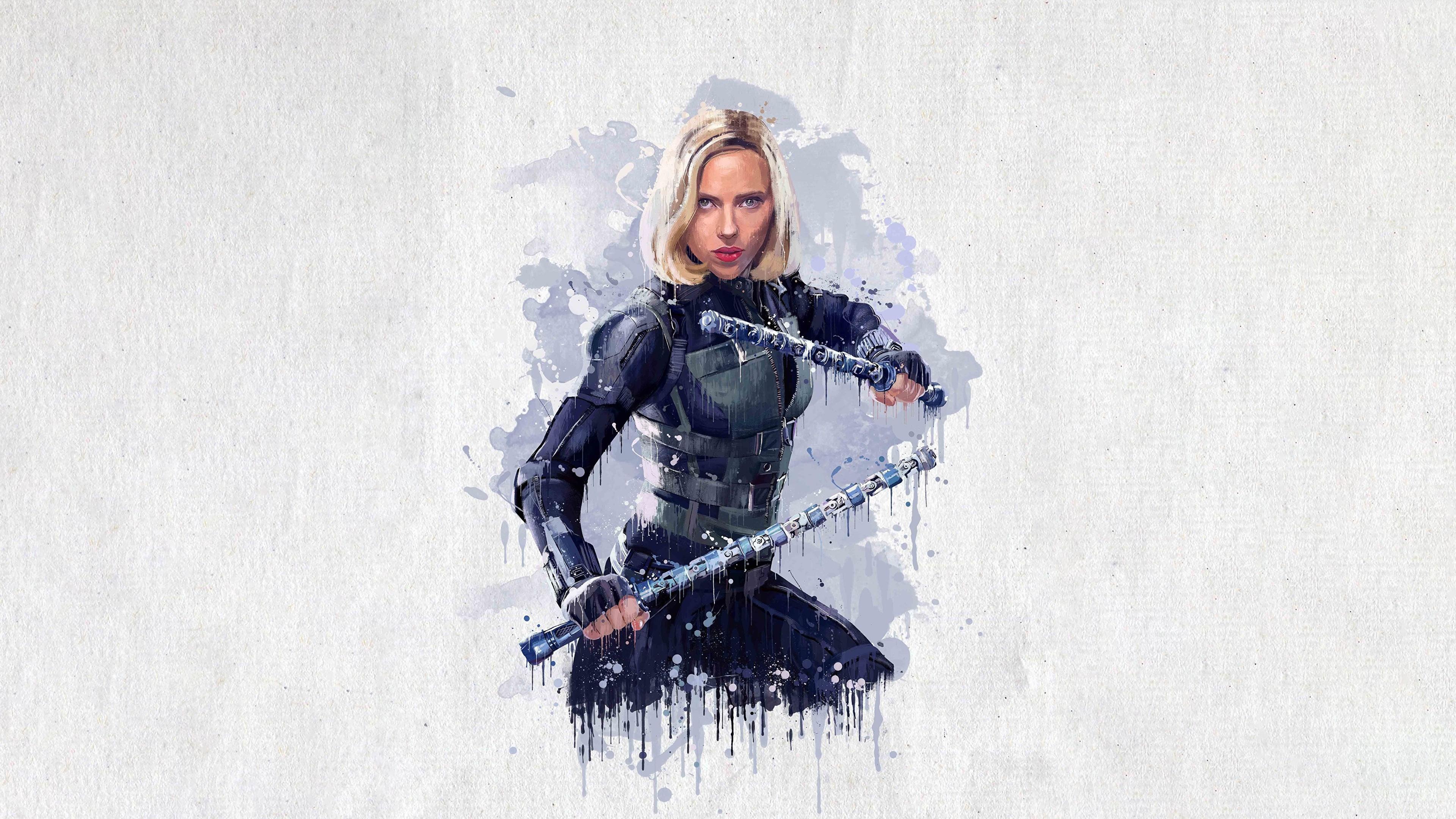 Desktop Wallpapers Avengers Infinity War Scarlett 3840x2160