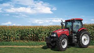 Fotos Landwirtschaftlichen Maschinen Acker Traktor 2014-19 Case IH Puma 155