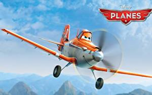 Wallpapers Airplane Planes Walt Disney air race rally action adventure Dusty