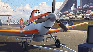 Hintergrundbilder Flugzeuge Planes Walt Disney air race rally action adventure Dusty