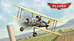 Bilder Flugzeuge Planes Walt Disney animated movie air race rally action adventure Leadbottom Zeichentrickfilm