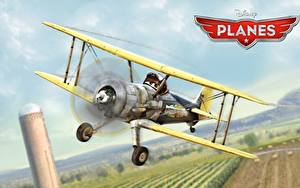 Bilder Flugzeuge Planes Walt Disney animated movie air race rally action adventure Leadbottom