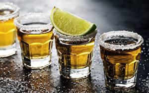Wallpapers Alcoholic drink Lime Shot glass Salt Food