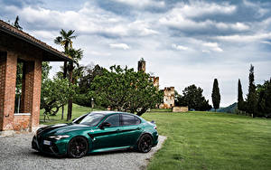 Pictures Alfa Romeo Green Metallic Giulia GTA (952), 2021 automobile