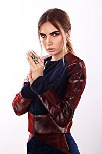 Bilder Viacheslav Krivonos Schminke Make Up Hand Blick Alisa