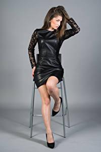 Hintergrundbilder Model Kleid Bein Amina Mädchens
