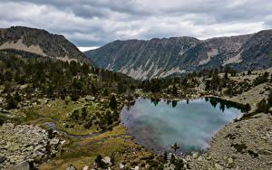 Fotos Andorra Gebirge See Park Vall del Madriu-Perafita-Claror
