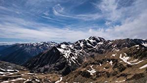 Bakgrunnsbilder Andorra Fjell Pyrenees