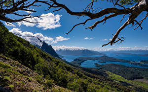 Hintergrundbilder Argentinien Gebirge See Himmel Landschaftsfotografie Ast Bariloche, Patagonia