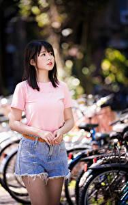 Bilder Asiatische Shorts T-Shirt Kinder