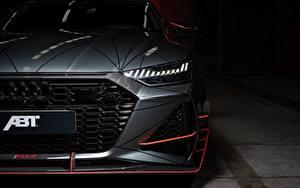 Fotos Audi Auto Scheinwerfer Vorne Graue ABT Sportback 2020 RS7-R auto