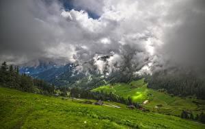 Hintergrundbilder Österreich Gebirge Grünland Ein Tal Wolke Tyrol, Zillertal