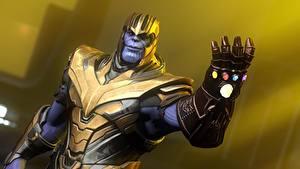 Hintergrundbilder Avengers: Infinity War Hand Helm thanos Film 3D-Grafik