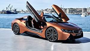 Hintergrundbilder BMW Roadster 2018 i8