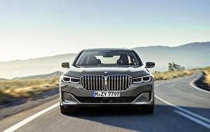 Bureaubladachtergronden BMW Vooraanzicht 7 Series G12 G11 facelift 750 Li auto's